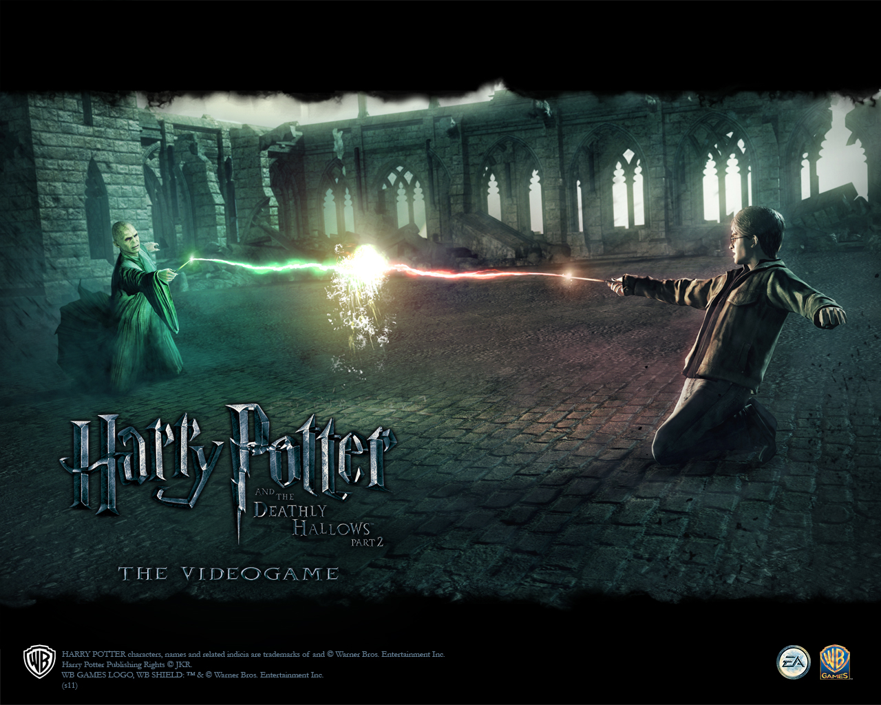 harry potter video game wallpaper