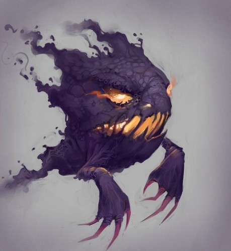 haunter creepy art