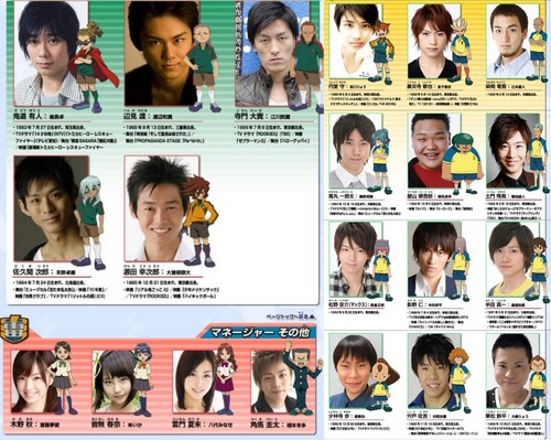 inazuma 11 characterin real - inazuma-eleven Photo