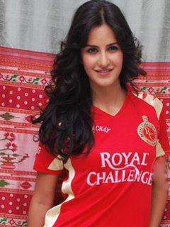 Katrina Kaif wallpaper probably containing a portrait called katrina supported royal challengers