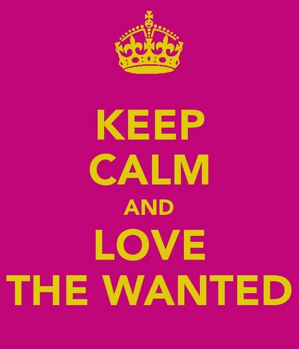 keep calm and Cinta the wanted