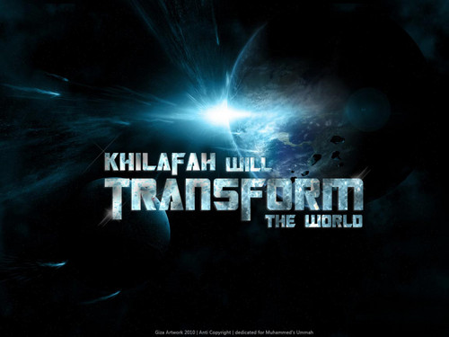 Islam wallpaper entitled khilafah will transformers the world