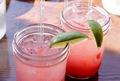 गुलाबी drink