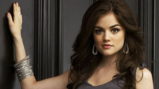 Lucy Hale 壁纸 with a portrait called pll