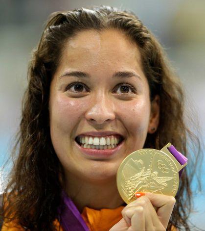 Ranomi Kromowidjojo-women's 100m freestyle winner