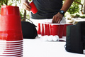 red cups - red photo