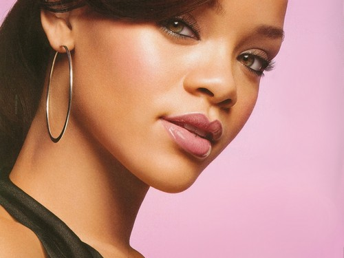 Rihanna wallpaper probably with a portrait titled rihanna covergirl lashes