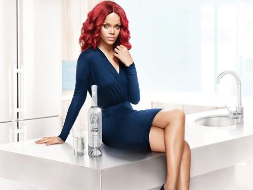 Rihanna tap water