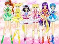 sailor moon as pretty cure 5