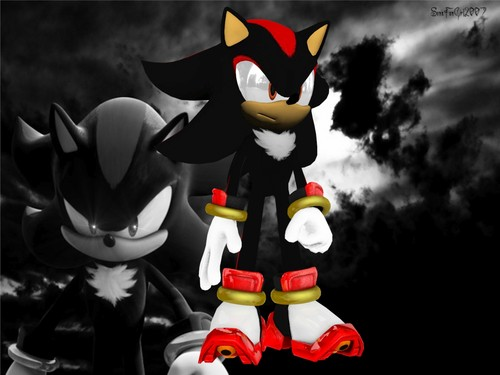 Shadow The Hedgehog wallpaper titled shadow 3d model