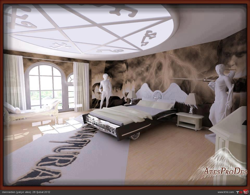 Supernatural Room Jensen Ackles Photo 31655298 Fanpop