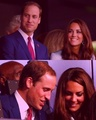 the Opening Ceremony of the London 2012 Olympics Games - prince-william-and-kate-middleton fan art