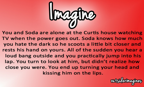 the outsiders: imagine