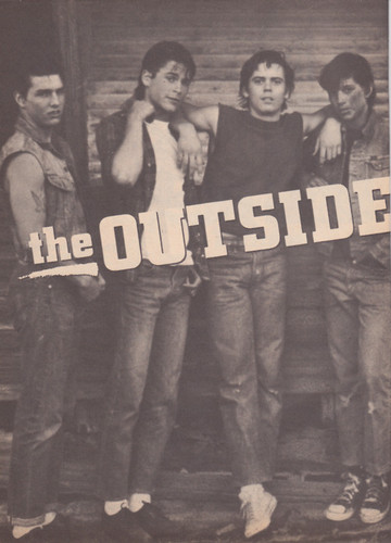 The Outsiders wallpaper titled the outsiders (rare)