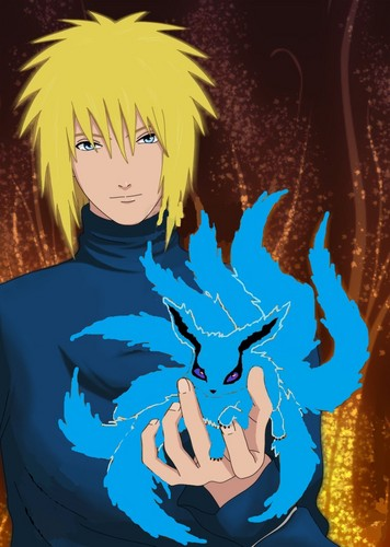 uncle minato and me ^_^