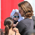 utter adorability! - jared-padalecki-and-genevieve-cortese photo