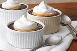 warm karanga siagi pudding, saladi