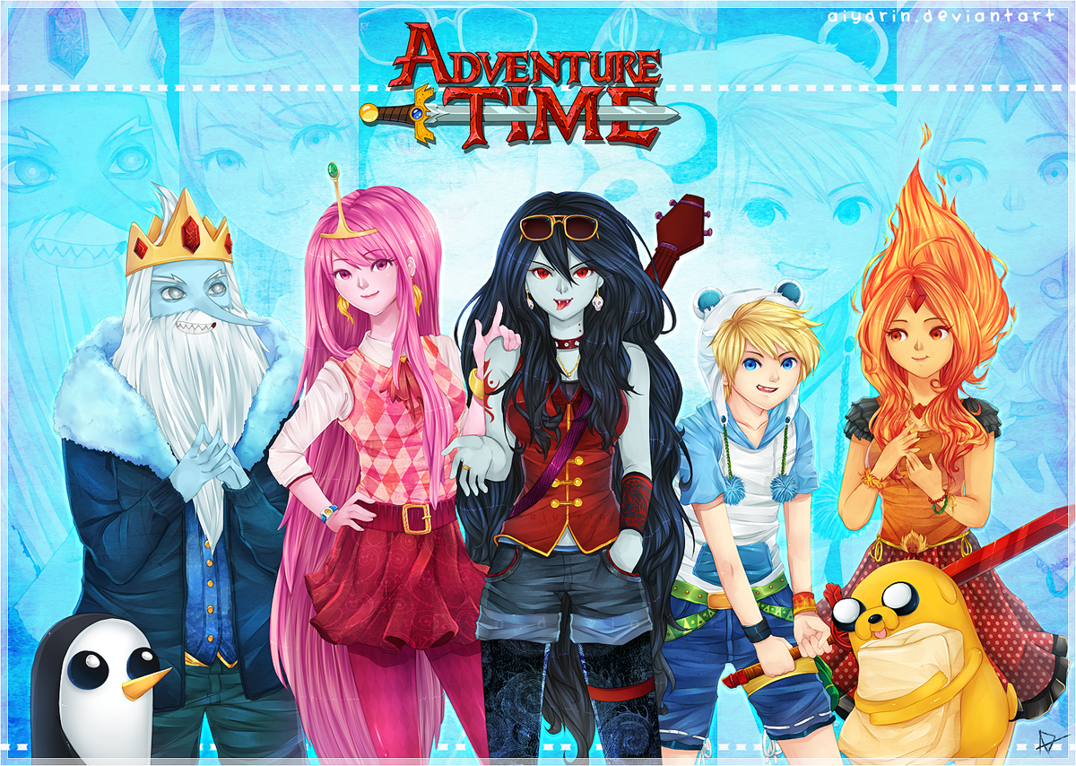 Adventure Time With Finn and Jake yeah