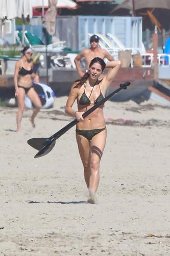 August 12 - At a pantai in Malibu