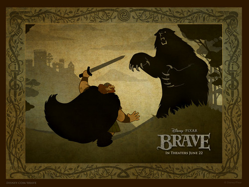 Brave wallpaper containing anime titled  Brave