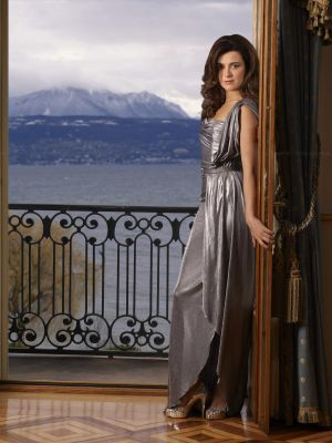 코트 드 파블로 바탕화면 probably with a drawing room and a living room called Cote de Pablo - CBS Watch Magazine - December 2010