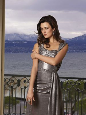 Cote de Pablo fond d'écran probably with a cocktail dress called Cote de Pablo - CBS Watch Magazine - December 2010