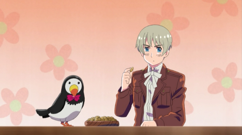 ~Ice-kun and Mr. Puffin~