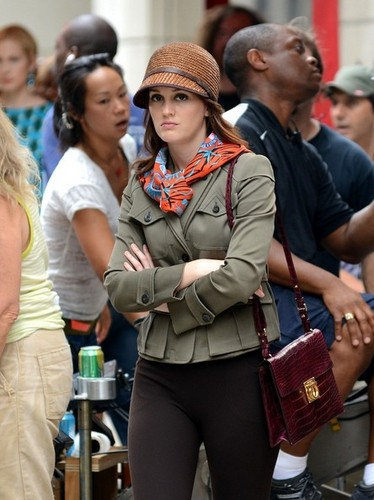 Leighton Meester and Ed Westwick Film 'Gossip'