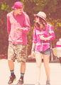 Lucy Hale & Chris Zylka out in Los Angeles (04/08) - chris-zylka-and-lucy-hale photo