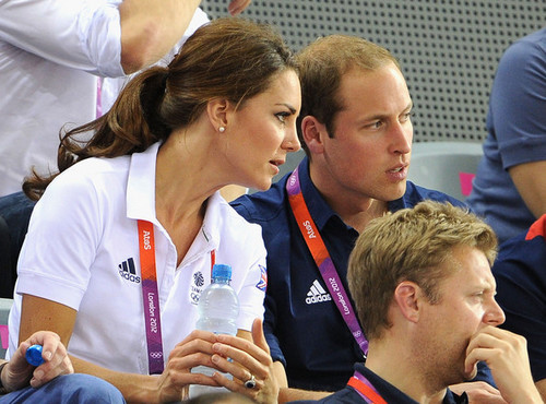 Prince William, Duke of Cambridge during siku 6 of the London 2012 Olympic Games