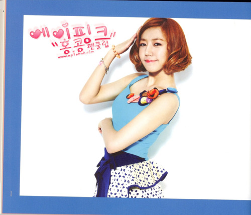Korea Girls Group A Pink wallpaper possibly with attractiveness and a portrait titled (SCANS) A-pink  Une Anee