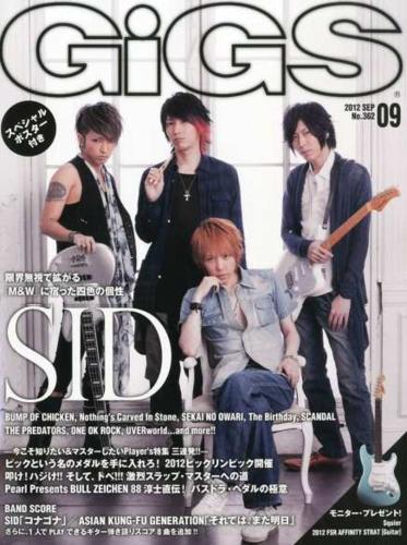 [SCANS] GIGS (September 2012)