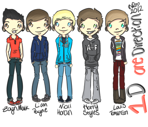 1D cartoon