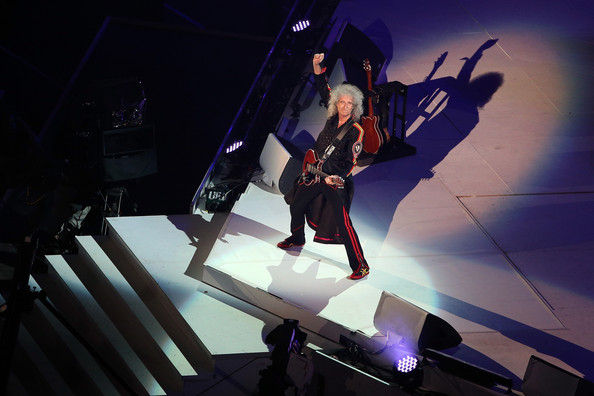 The Closing Ceremony &amp; Picnic of 2012 Olympics - Brian May