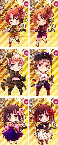 2P! Hetalia: Axis Powers