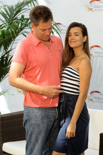Cote de Pablo fond d'écran entitled 50th Monte Carlo TV Festival