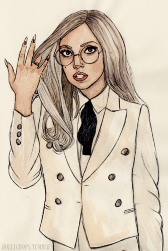 A M A Z I N G GAGA DRAWINGS door HELEN GREEN