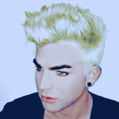 Adam Lambert goes Platinum Blonde!!! &lt;3 - adam-lambert Photo