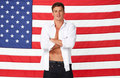 American flag - ryan-lochte photo