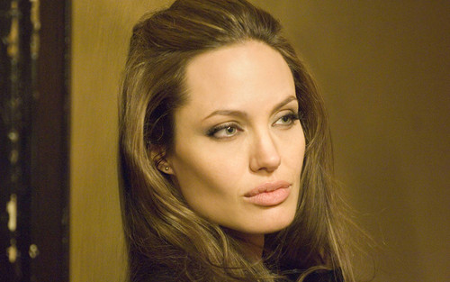Angelina Jolie wallpaper containing a portrait entitled Angelina Jolie - Wanted