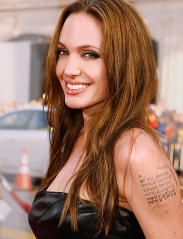 Angelina's smile