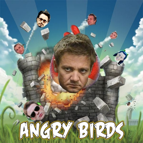 Angry Birds - The Avengers Fan Art (31771376) - Fanpop