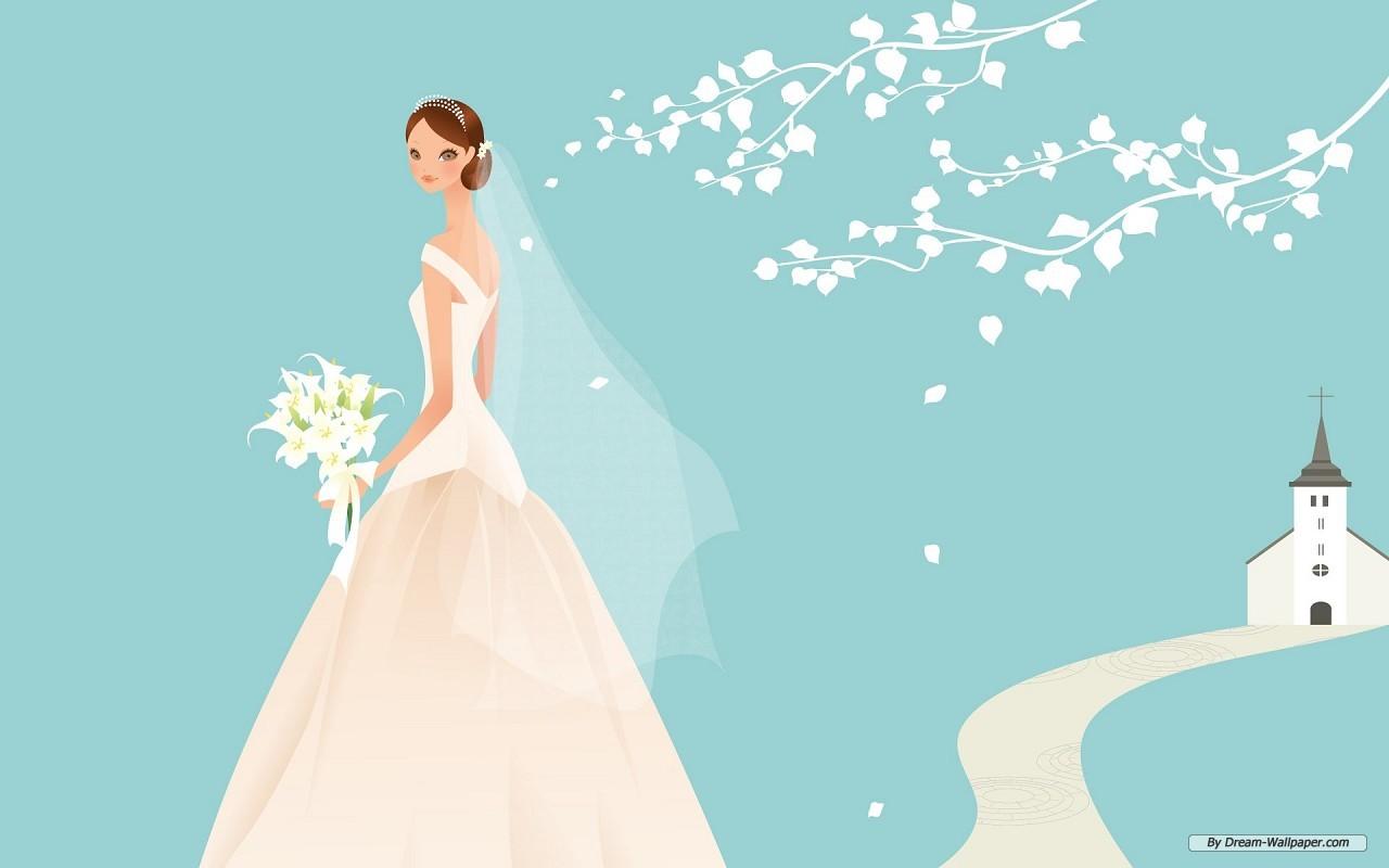 Animated Wedding - Weddings Wallpaper (31771143) - Fanpop