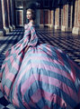 Annie Leibovitz's  Marie Antoinette Photoshoot - marie-antoinette photo