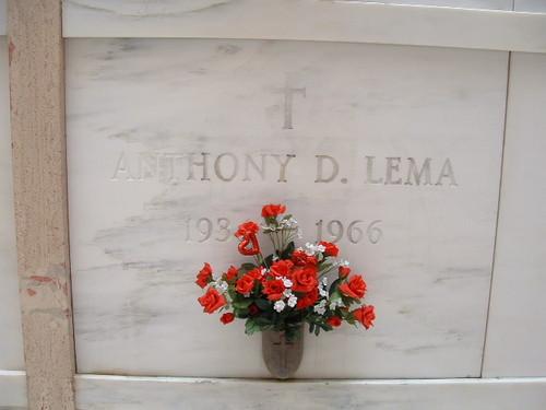 """Anthony David """"Tony"""" Lema (February 25, 1934 – July 24, 1966)"""