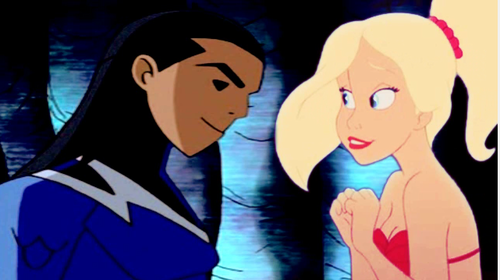 Aqualad and Arista
