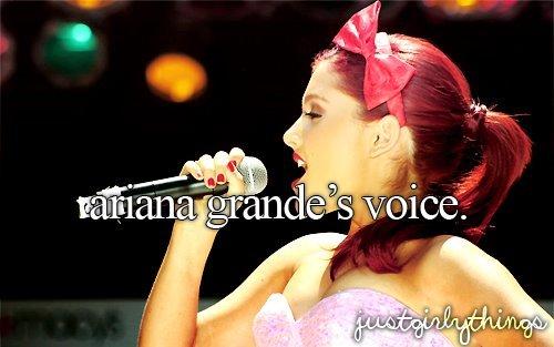 Ariana Grande's Voice