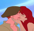 Ariel kisses Thomas