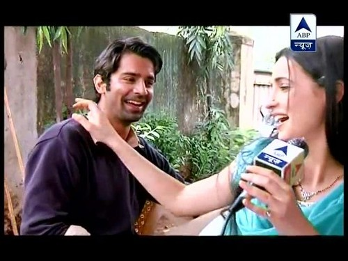 Arushi on the set of IPKKND