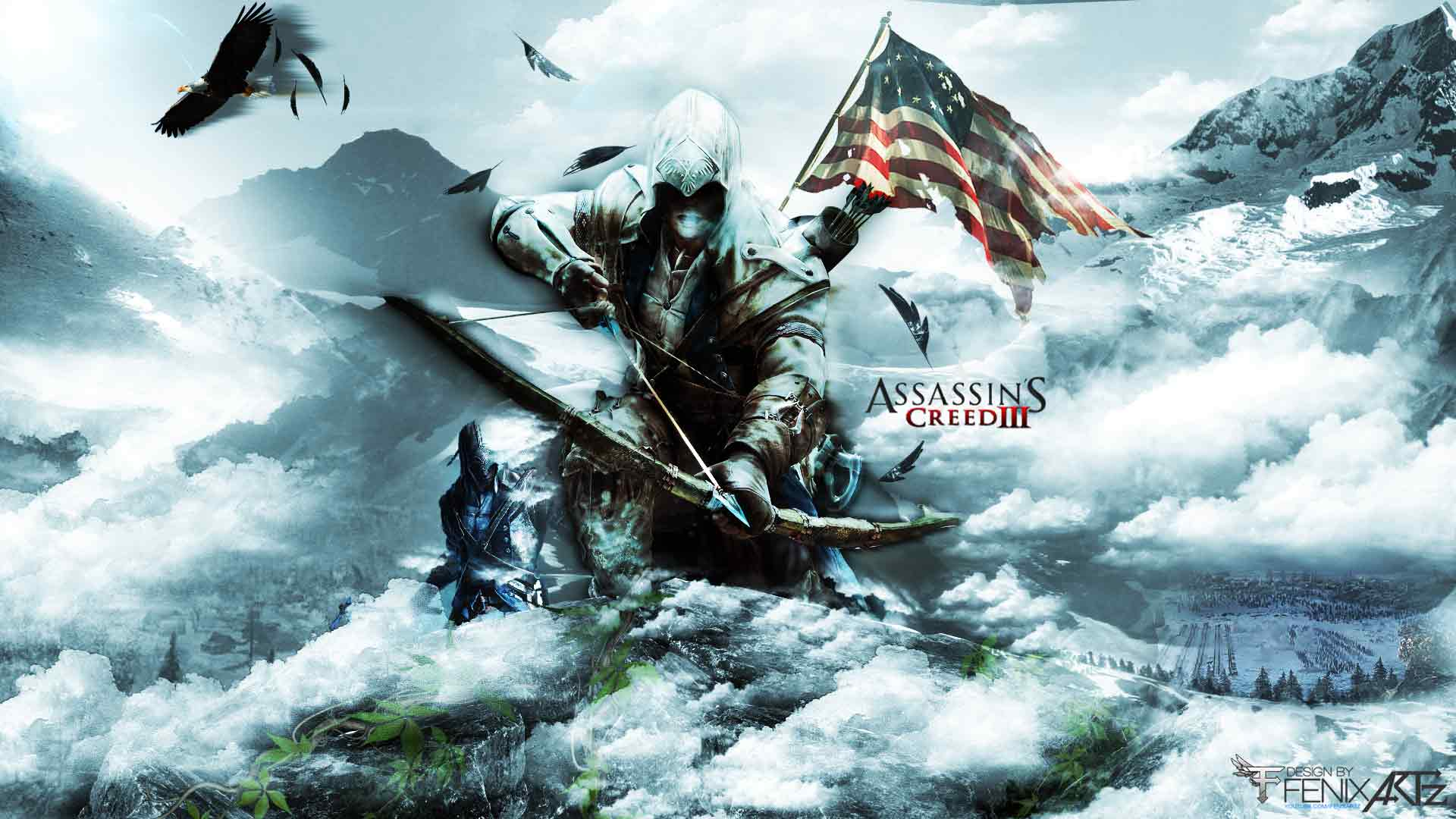 assassins creed 3 wallpaper hd